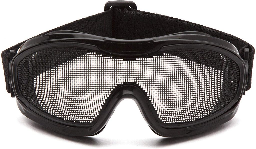 Pyramex Safety G9WMG Low Profile Wire Mesh Goggles