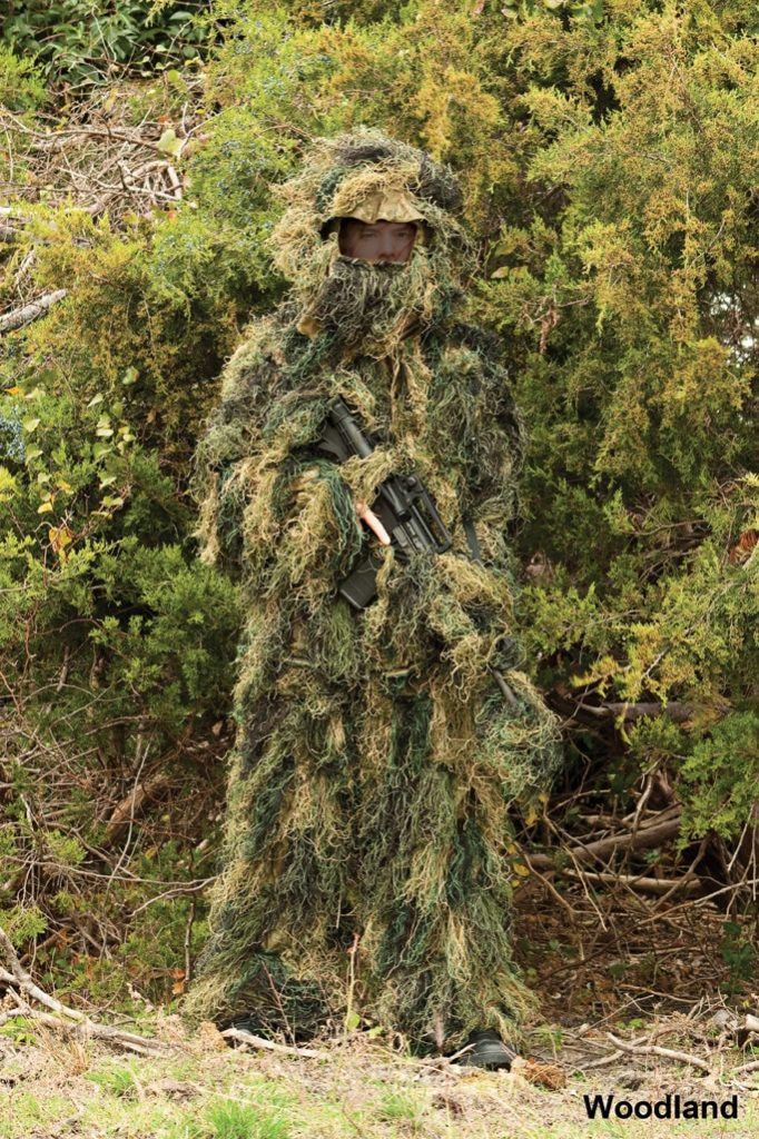 Red Rock Outdoor Gear Ghillie Suit Woodland