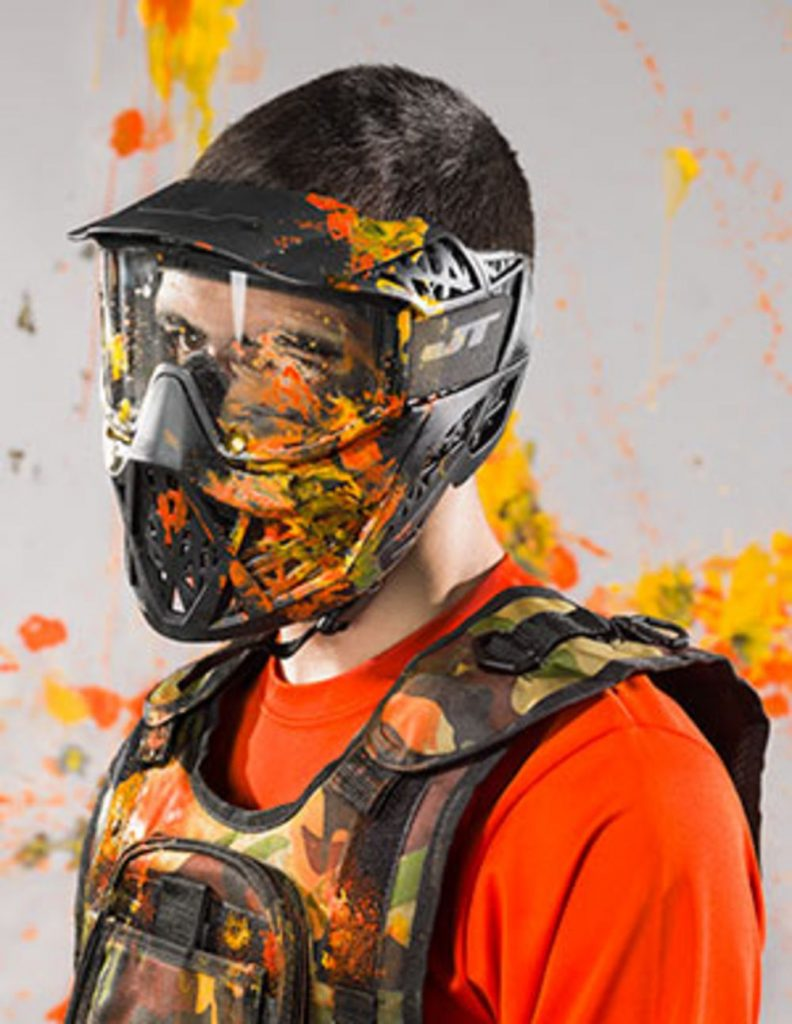 paintball splatter