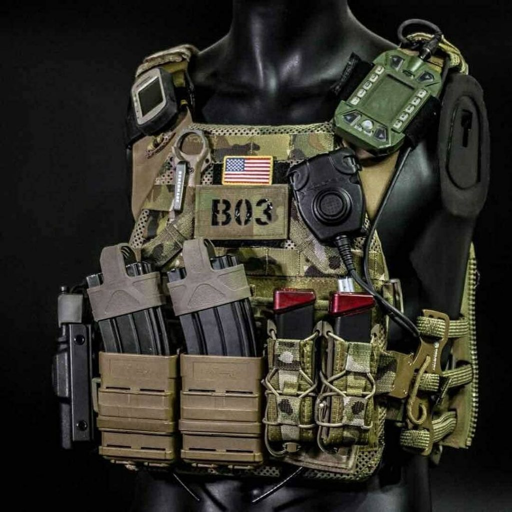Airsoft Plate Carrier Loadout