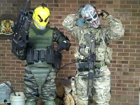 Airsoft Masks Character