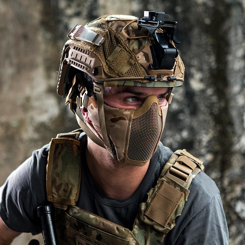 Airsoft mask no eye protection
