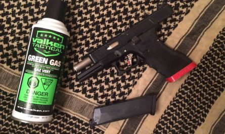 Green Gas and Pistol