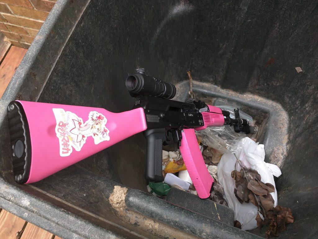 trash rifle
