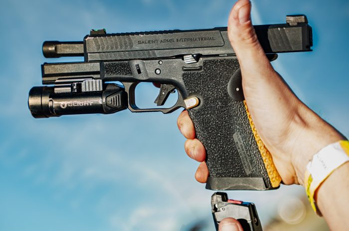 loading an airsoft pistol