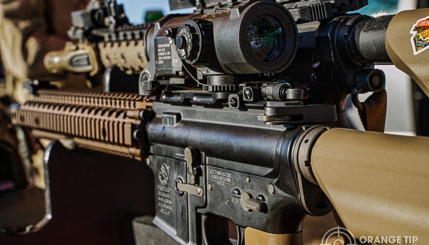 Airsoft rifles with scopes