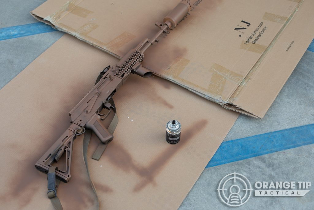 LCT AK-74M with Light Earth Base Coat