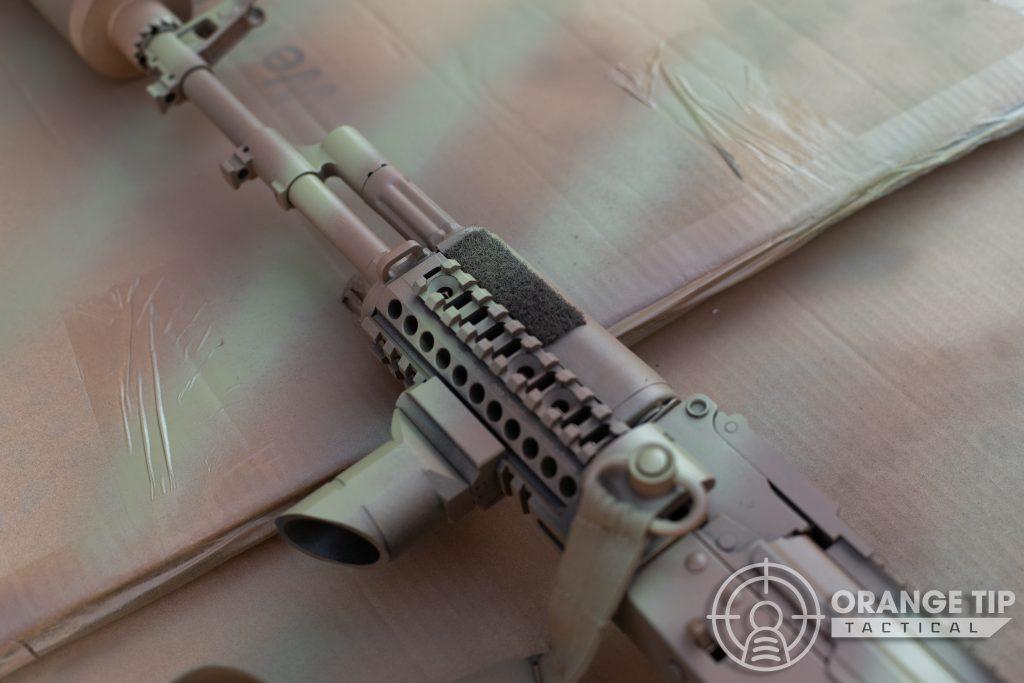 LCT AK-74M handguard strip detail
