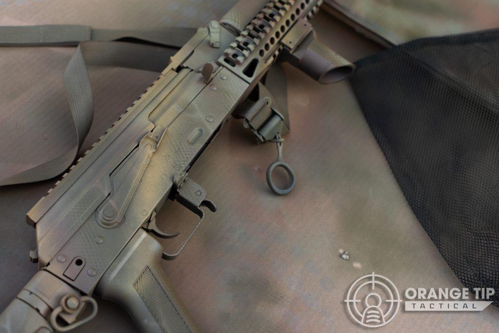 LCT AK-74M with Model Master Afrika Mustard Stripes
