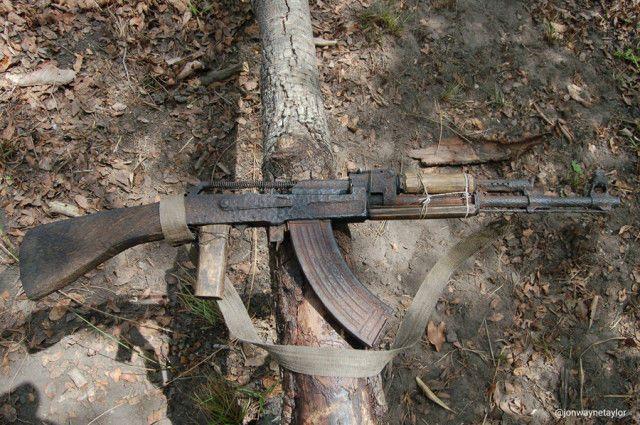 Rusty poacher AK
