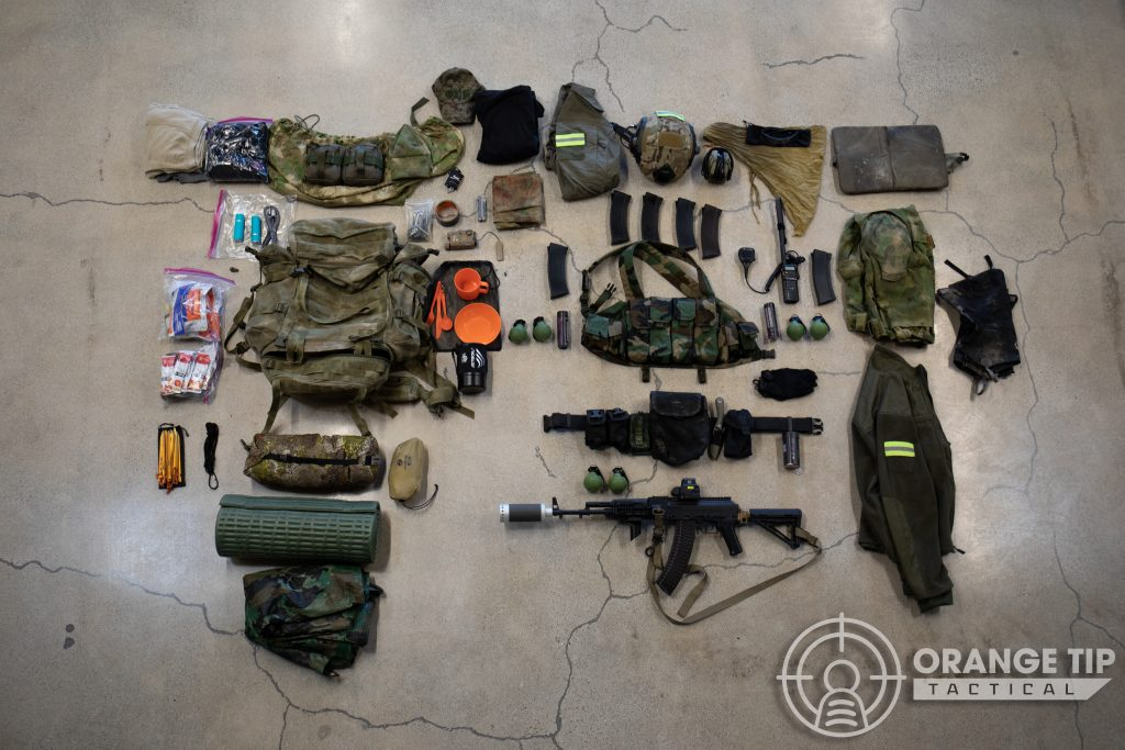 Full Milsim Kit Layout