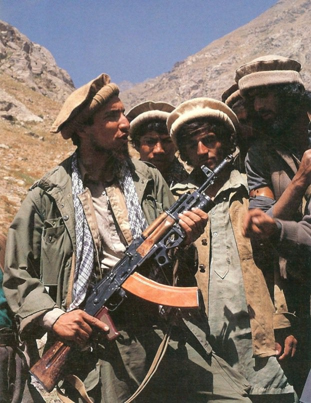 Ahmad Shash Massoud AK-74