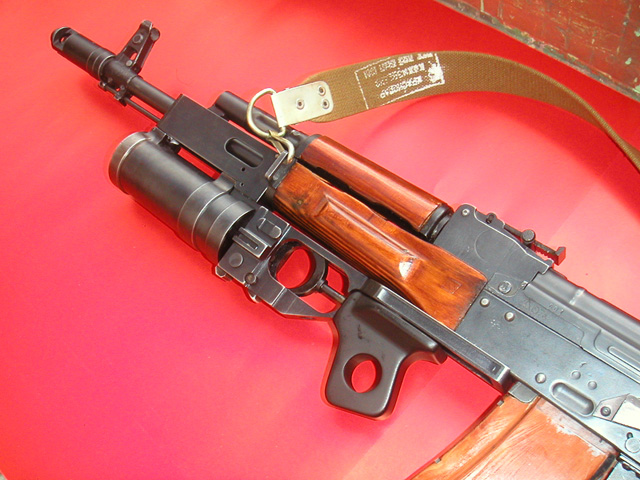 AK-74 with GP-25