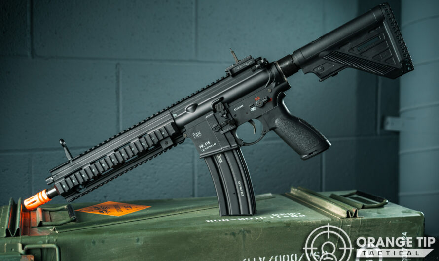 Umarex / Elite Force H&K 416A5 [Hands-On Review]