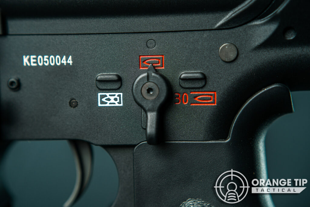 18. Elite Force HK416A5 Fire Selector