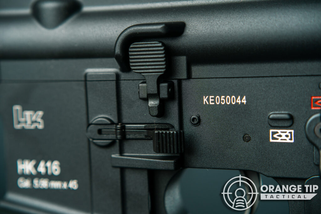 19. Elite Force HK416A5 Mock Bolt Releasse