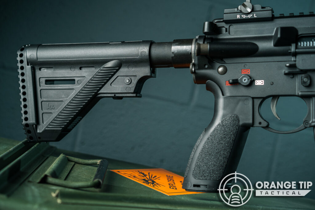 6. Elite Force HK416A5 Stock and Pistol Grip
