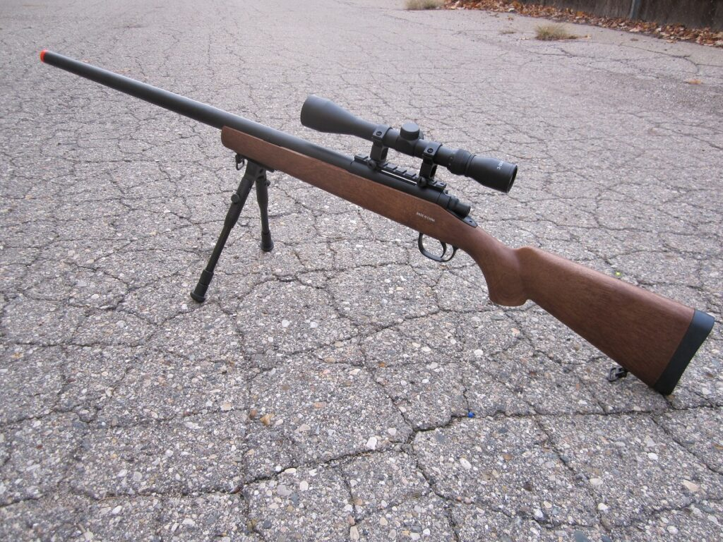 Airsoft bolt action