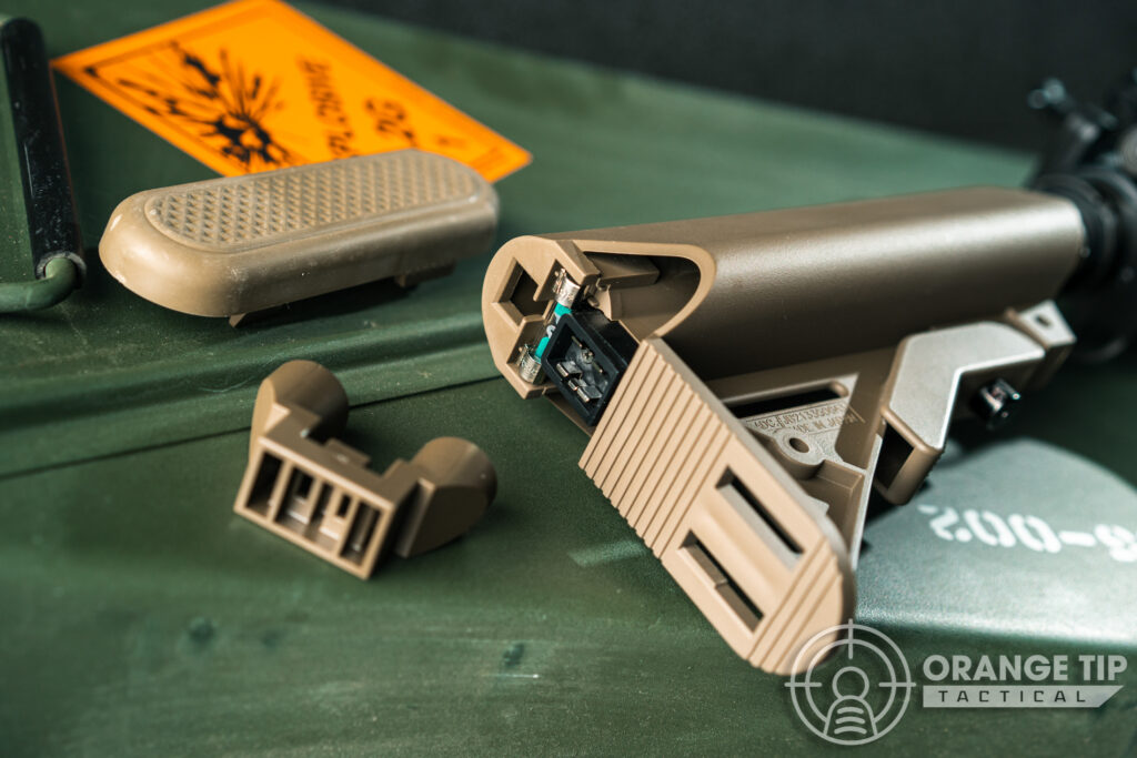34. Tokyo Marui MK18 Mod 1 NGRS Battery Compartment