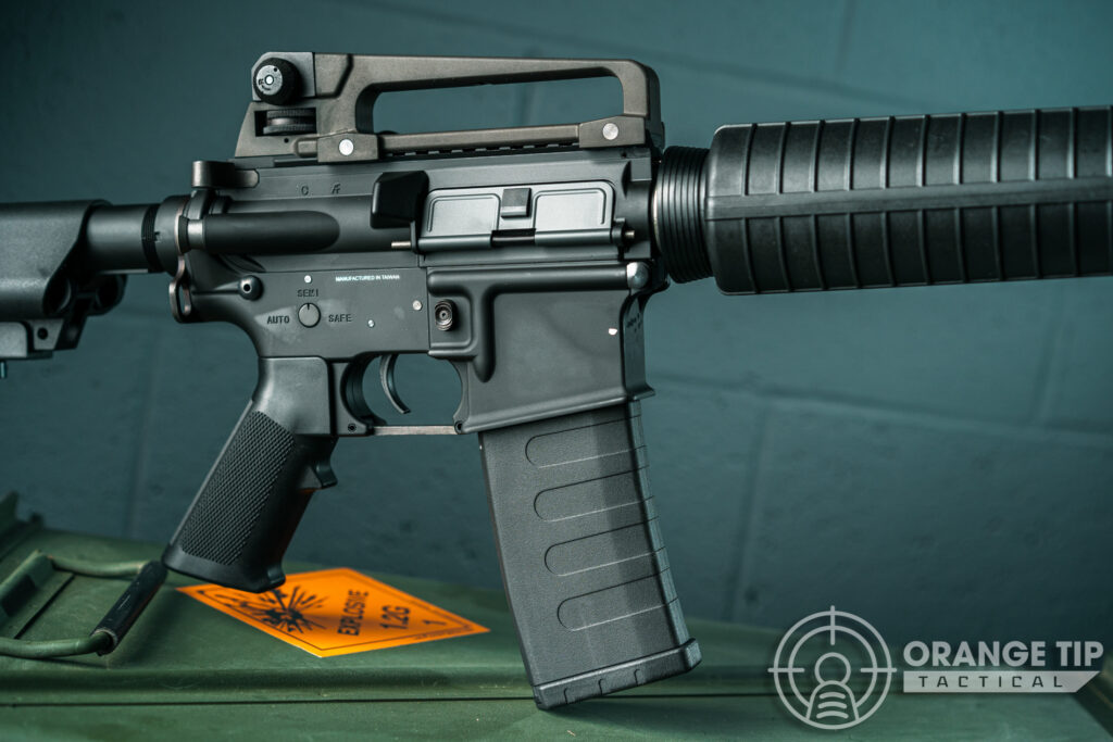 7. KWA KM4A1 AEG Receiver and Pistol Grip