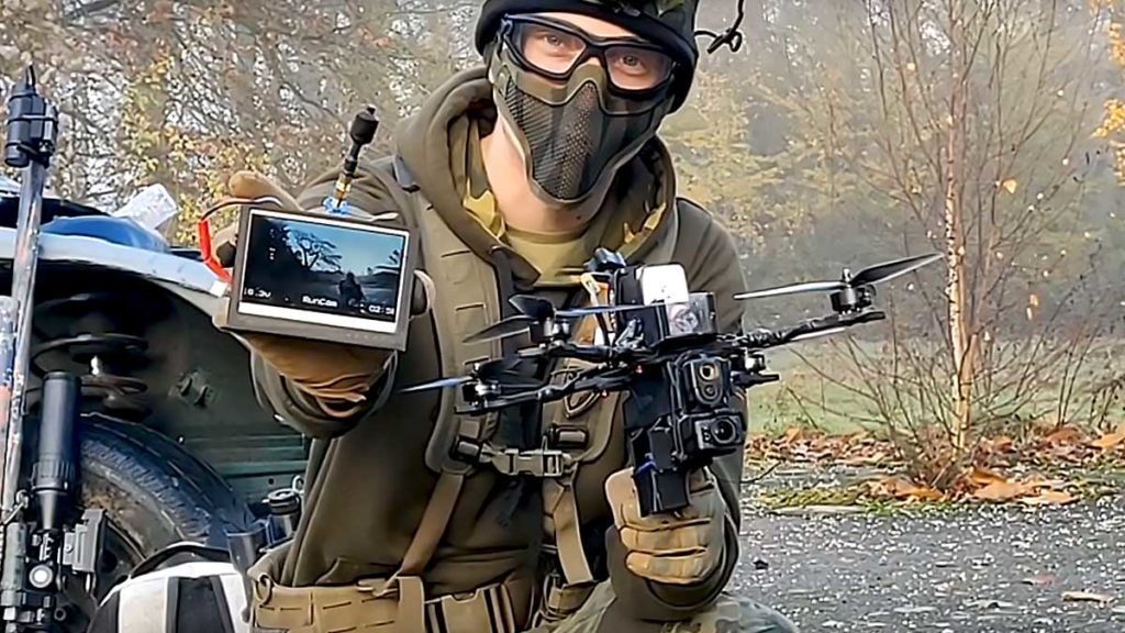 Airsoft drone