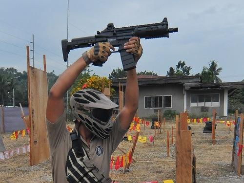 blind firing