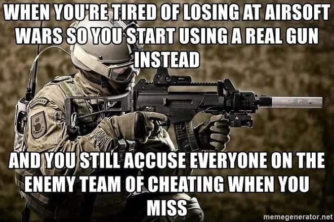 cheating airsoft gun
